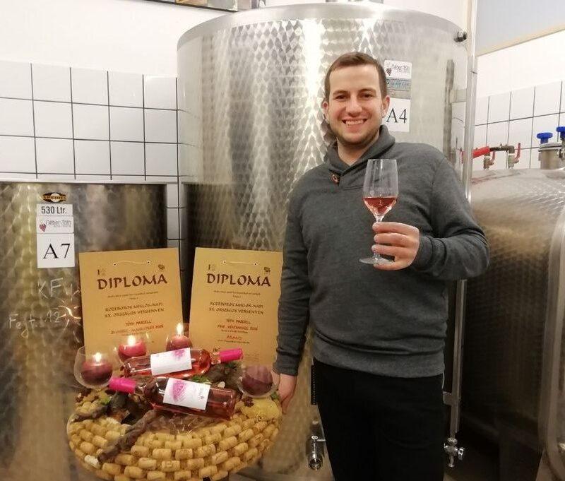 Tóth Marcell csepregi borász